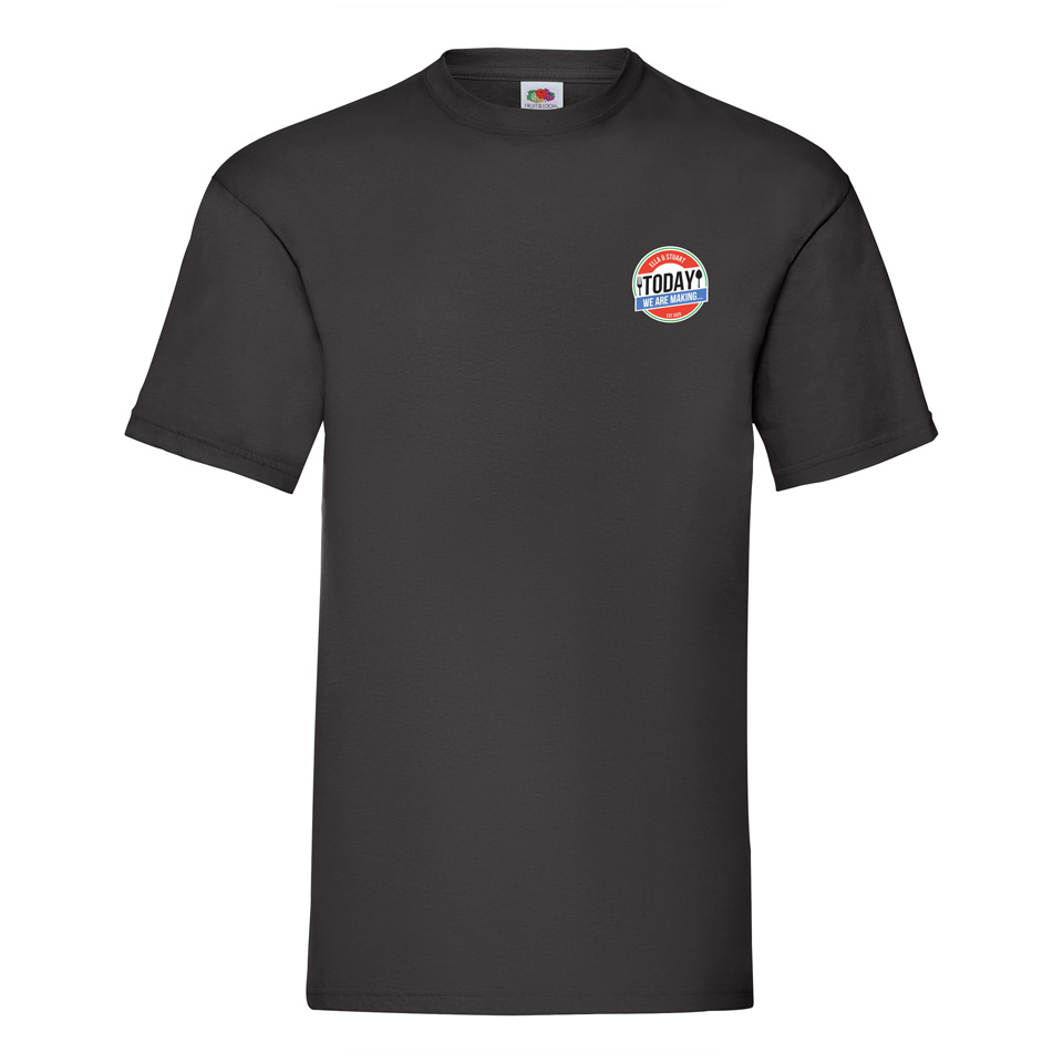 Black T-Shirt - Today We Are Making